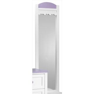 Isabella Lavender Mirror - White, Lavender