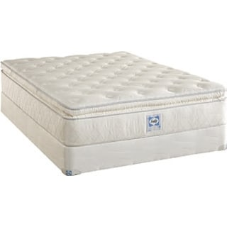 Supreme Series Plush Euro Top Queen Mattress/Boxspring Set