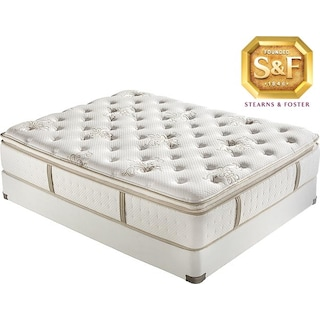[C Series Luxury Firm EPT Queen Mattress/Boxspring Set]