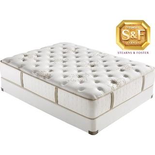 [C Series Luxury Firm Queen Mattress/Boxspring Set]