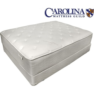 Hotel Supreme Plush Queen Mattress/Boxspring Set
