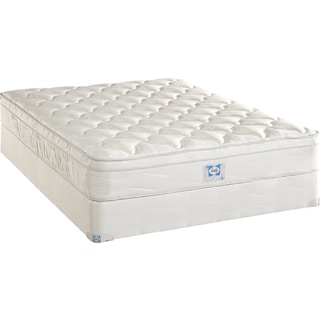 Luxury Series Plush Euro Top King Mattress/Boxspring Set