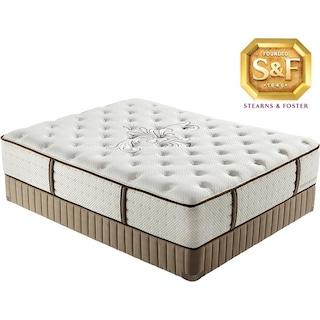 "[Luxury Estate ""L"" Series Luxury Plush Queen Mattress/Boxspring Set]"