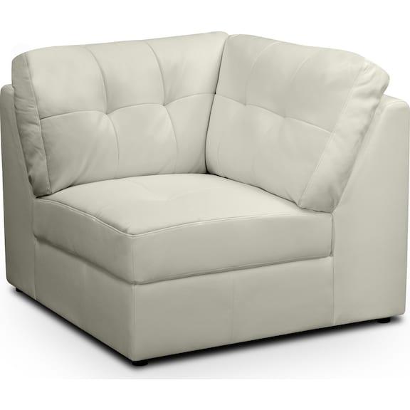 Living Room Furniture - Largo White Wedge