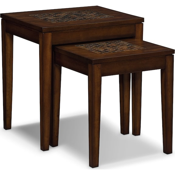 Accent and Occasional Furniture - Shannon Nesting Tables
