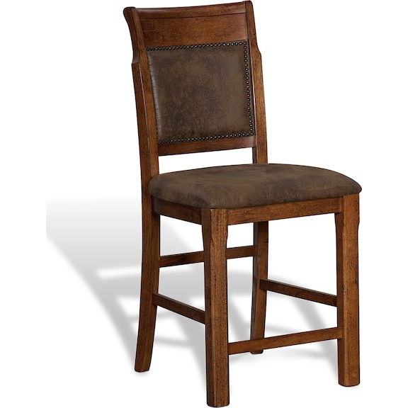 Dining Room Furniture - Greenfield Walnut Counter-Height Stool