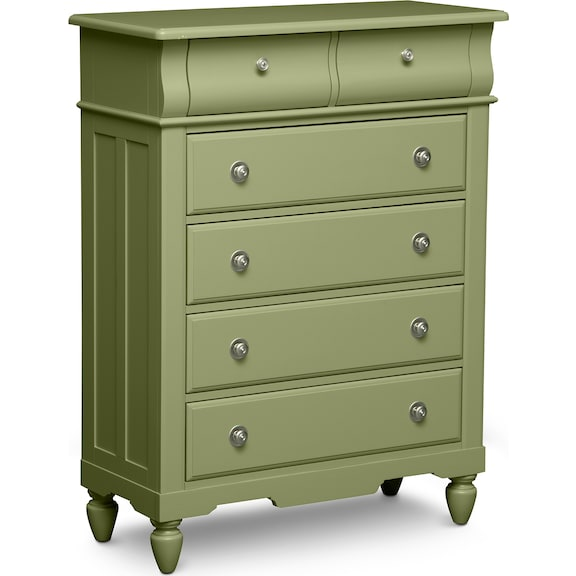 Kids Furniture - Mayflower Green Chest