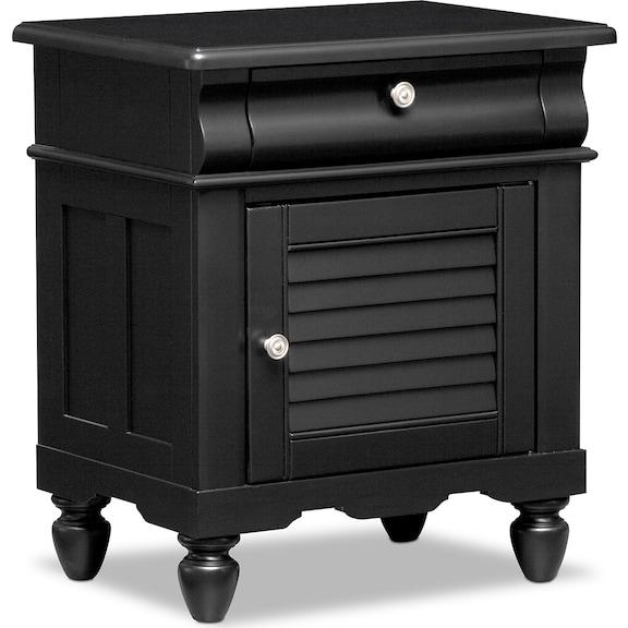 Kids Furniture - Mayflower Black Nightstand