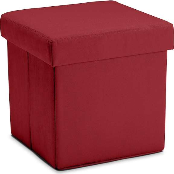 Living Room Furniture - Abbot Folding Cube Ottoman