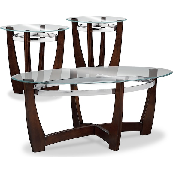 Accent and Occasional Furniture - Daly 3-Pack Tables