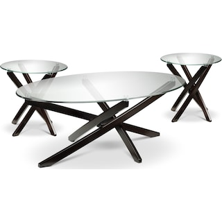 Fairlight Coffee Table & Two End Tables Set