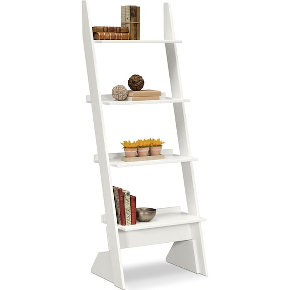 Accent and Occasional Furniture - Magnolia Leaning Bookshelf
