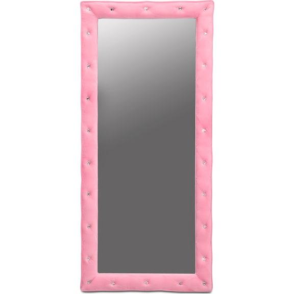 Bedroom Furniture - Layla Pink Floor Mirror