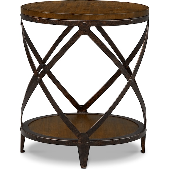 Accent and Occasional Furniture - Erie Round End Table