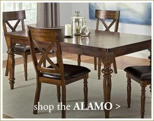 Shop the Alamo dining room
