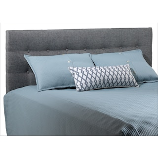 Horizon Grey Full Headboard