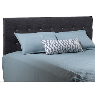 Horizon Charcoal Queen Headboard