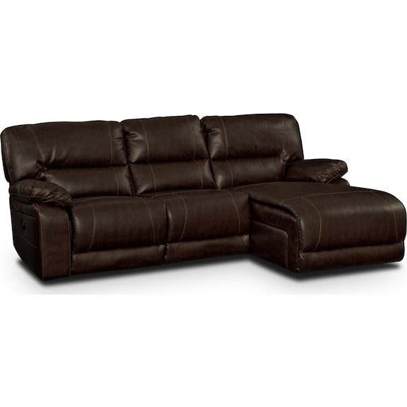 Living Room Furniture - Durango Godiva 2 Pc. Reclining Sectional