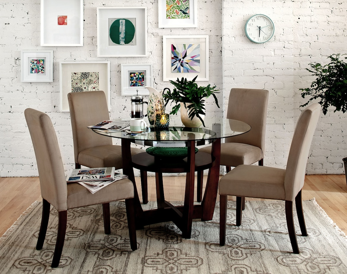 Dining Room Furniture - The Daly Beige Collection - Table