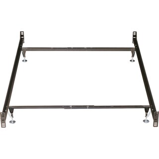 Twin/Full Metal Glide Bedframe w/ Head/Footboard Attachment