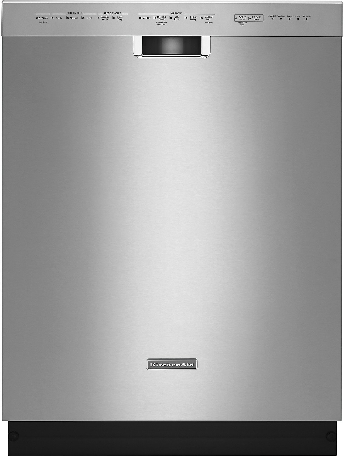 """Clean-Up - KitchenAid 24"""" Built-In Dishwasher – Stainless Steel"""