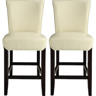 Roblin Counter-Height Chairs (Set of 2) - Ivory