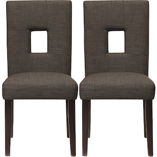 Bowden Dining Chairs (Set of 2) - Grey