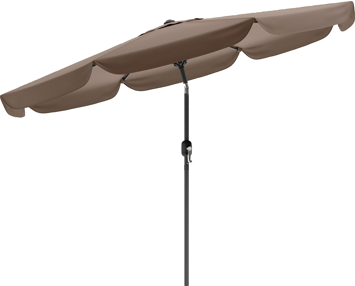 Outdoor Furniture - Tilting-Top Patio Umbrella – Sandy Brown