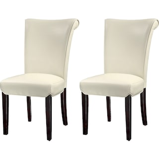 Roblin Dining Chairs (Set of 2) - Ivory