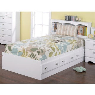 Eastleigh Twin Bookcase Storage Bed