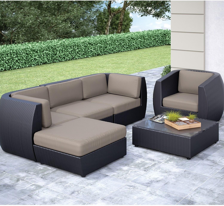 Outdoor Furniture - Penzance 6-Piece Patio Set