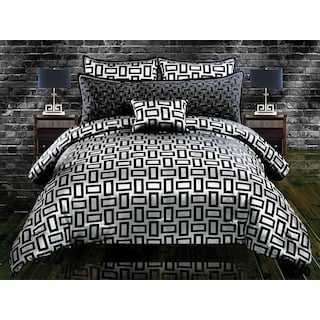 Inga 5-Piece King Comforter Set