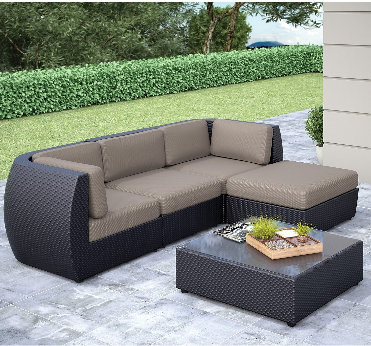 Outdoor Furniture - Penzance 5-Piece Patio Set