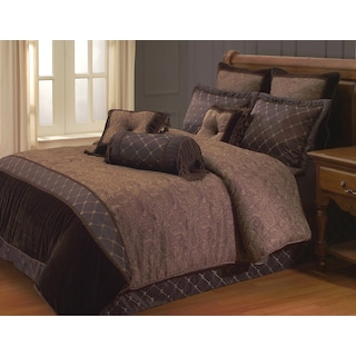Faaborg 9-Piece Queen Comforter Set