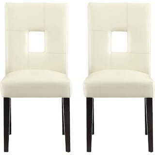 Bowden Dining Chairs (Set of 2) - White