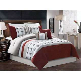 Arhus 7-Piece Queen Comforter Set