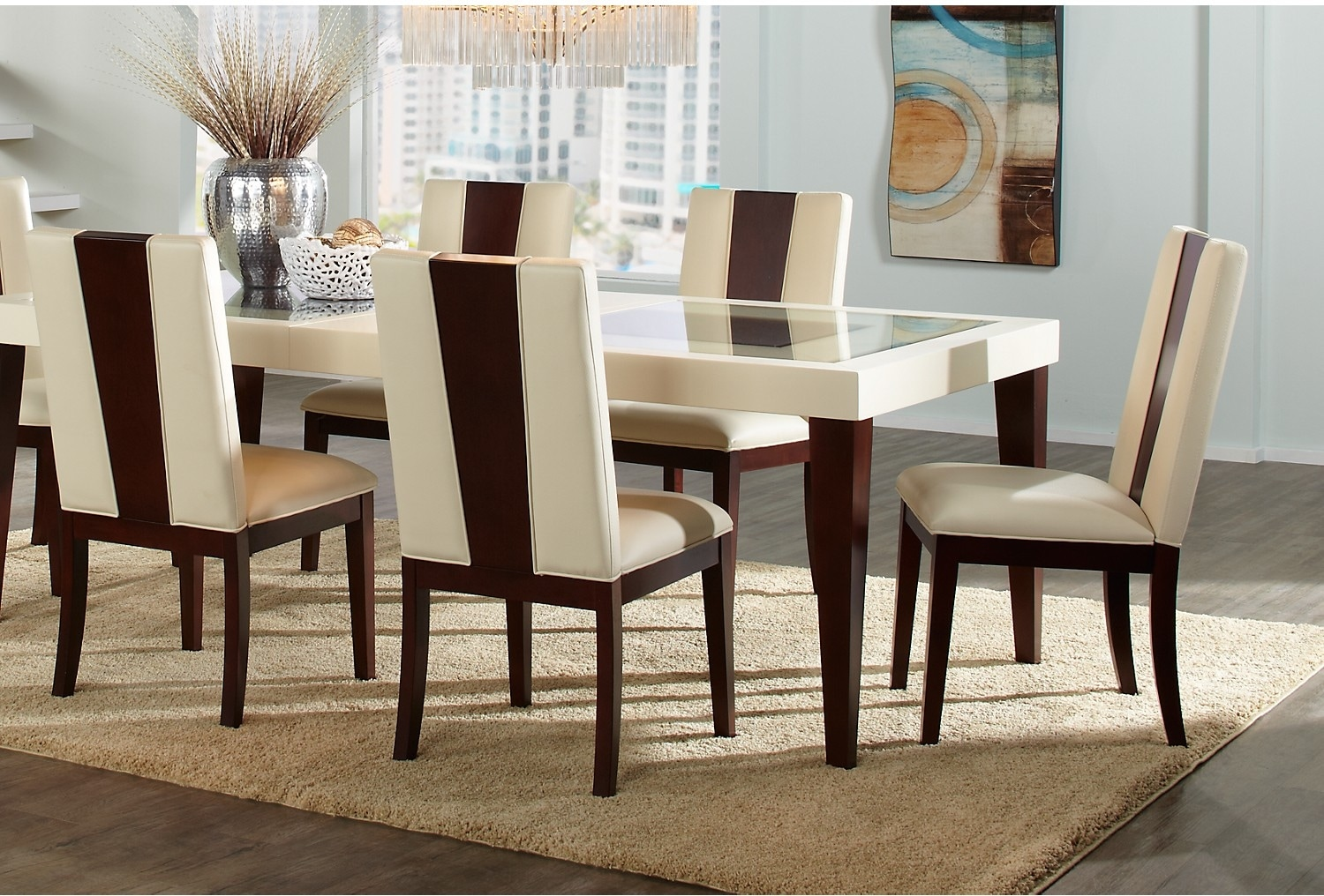 Dining Room Furniture - Tadley 5-Piece Dining Package