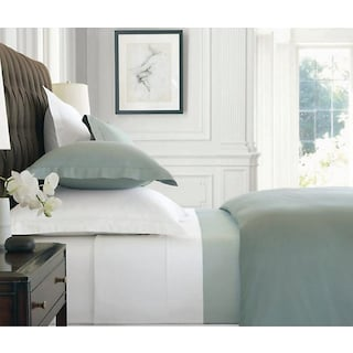 Svendborg 500 TC 4-Piece Queen Sheet Set - White