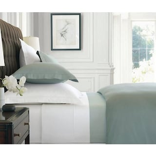 Askil 320TC 4-Piece Queen Sheet Set - White