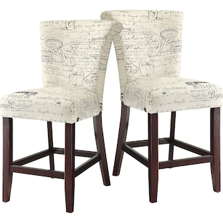 Berwick 2-Pack Counter-Height Chairs