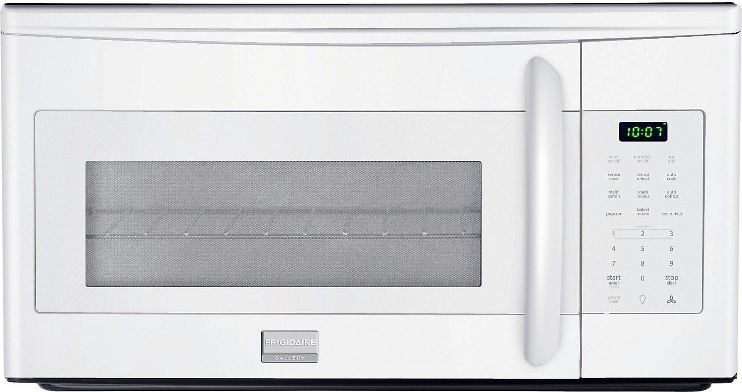 Cooking Products - Frigidaire 1.7 Cu. Ft. Over-the-Range Microwave – White