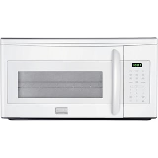 Frigidaire 1.7 Cu. Ft. Over-the-Range Microwave – White