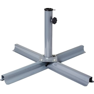 Patio Umbrella Stand - Grey