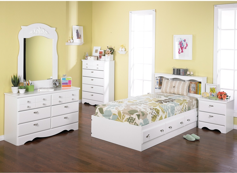 Kids Furniture - Eastleigh 6-Piece Twin Storage Bedroom Package