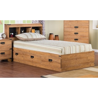 Fleetwood Twin Bookcase Storage Bed
