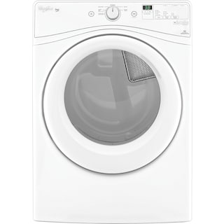 Whirlpool® Duet® 7.4 Cu. Ft. Electric Dryer  - White