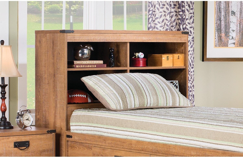 Kids Furniture - Fleetwood Twin Bookcase Headboard