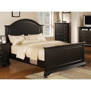 Casey Black Queen Bed