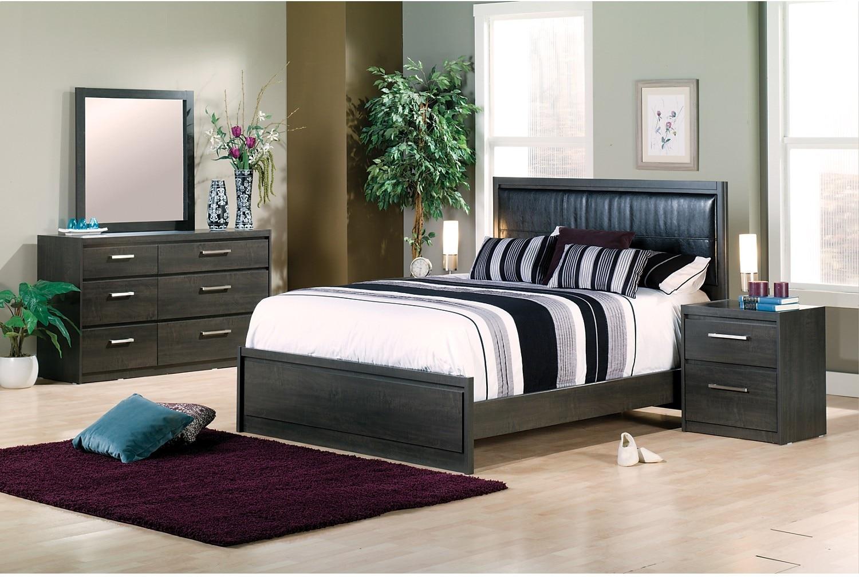 Bedroom Furniture - Lydney 7-Piece King Bedroom Package