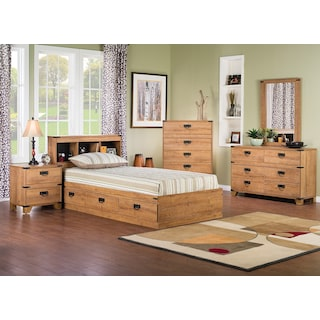 Fleetwood 6-Piece Twin Storage Bedroom Package